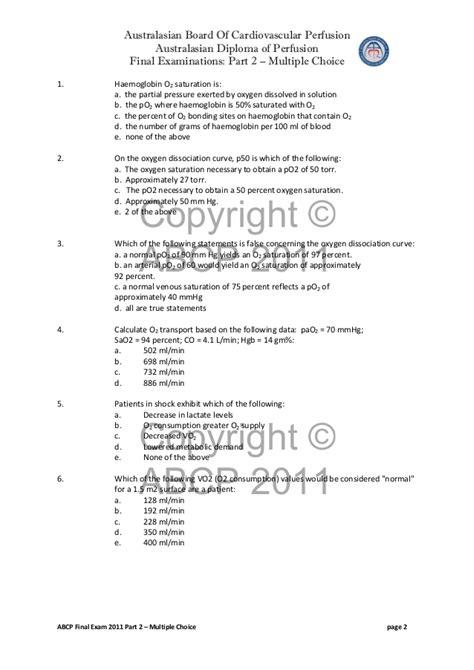 Mcq exam 2011