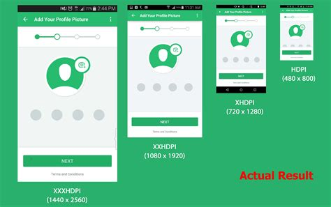 android ui layout design xml layout design for android device having different