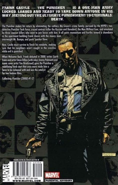 punisher welcome back frank punisher welcome back frank tp c on collectorz com core comics