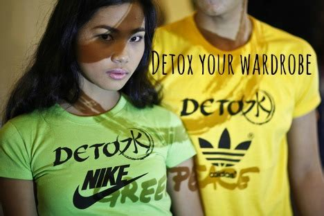 Greenpeace Detox Chemicals by Detox Fashion Manifesto From Greenpeace Moral Fibres
