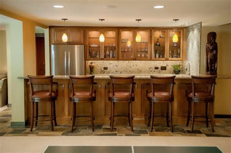 Home Basement Bar Home Bar Ideas For Any Available Spaces