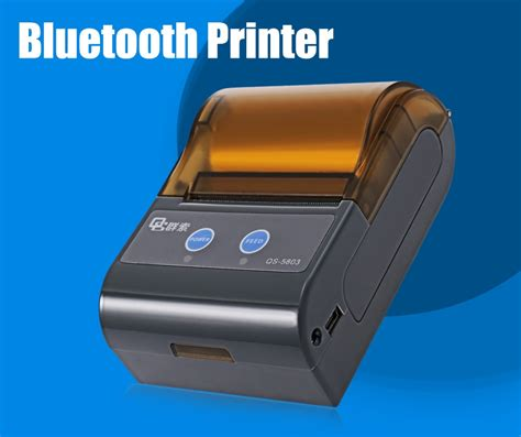 Printer Bluetooth Second qs 5803 mini bluetooth 4 0 printer eu black jumia kenya
