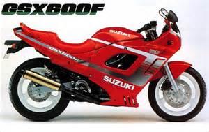 Suzuki Gsx F 600 Suzuki Gsx600f Model History