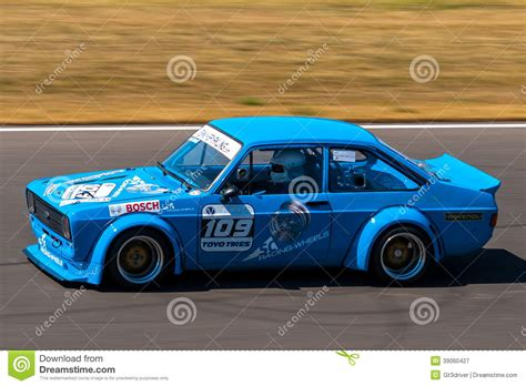 opel race car classic opel kadett race car editorial photography image