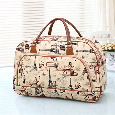 pattern for travel tote bag 6 colors 2015 fashion pu leather travel bag women pattern