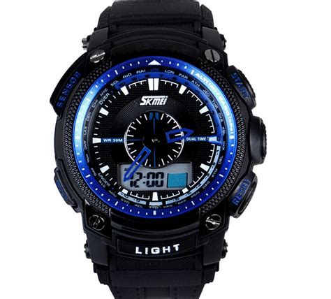 2015 new mens watches casual sport brand skemi led 30m