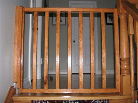 Top Of Stairs Banister Baby Gate Baby Gate Self Closing And Latching By Rob