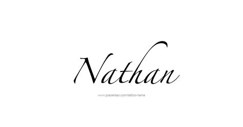 nathan tattoo designs nathan prophet name designs page 3 of 5 tattoos