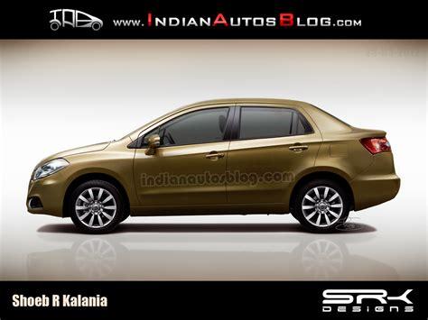 New Maruti Suzuki Sx4 2014 Rendering Next Maruti Sx4 Sedan As A Baby Kizashi