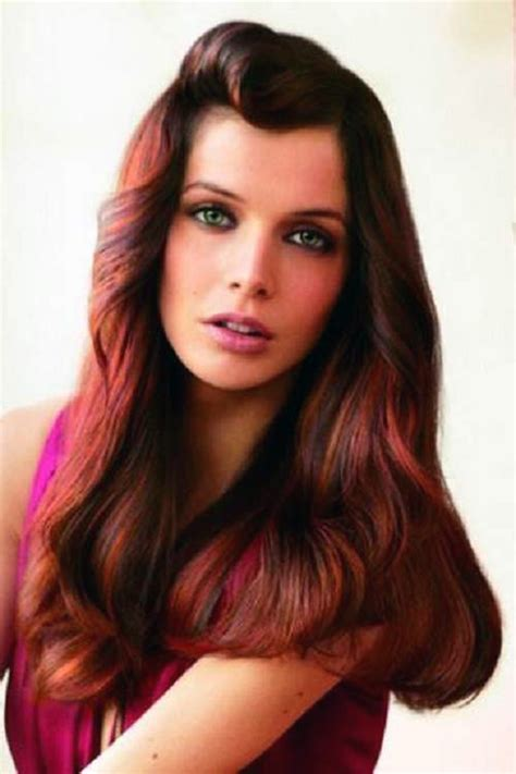 pictuted of red highlights on dark hair with spiky cut black hair with red highlights best pictures fashion gallery