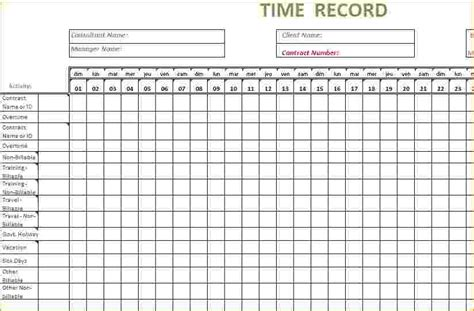 8  Timesheet Template Excel   Timeline Template