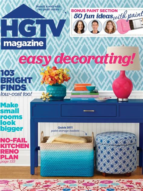 Celebrate Home Interiors by Hgtv Magazine May 2015 Hgtv