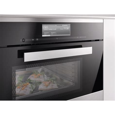 miele steam oven buy miele pureline dgm6800 clean steel steam oven with