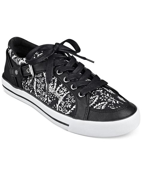 sneakers guess g by guess s omeni sneakers in black lyst