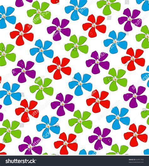 spring background pattern free flowers spring background pattern cartoon sketch stock