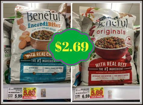 dog food coupons kroger purina beneful dog food only 2 69 at kroger kroger krazy