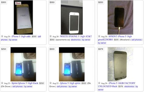 Selling Gift Cards On Craigslist - where to get the most money for your old iphone