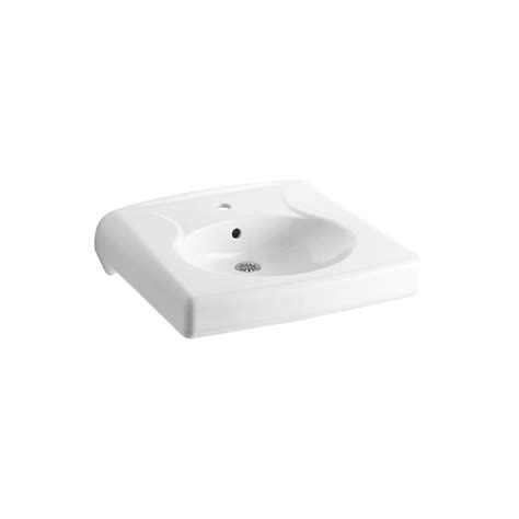 kohler brenham bathroom sink in white k 1997 1 0 the