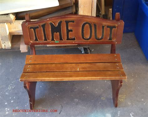 timeout bench trashy tuesday the gap band my junque and moi