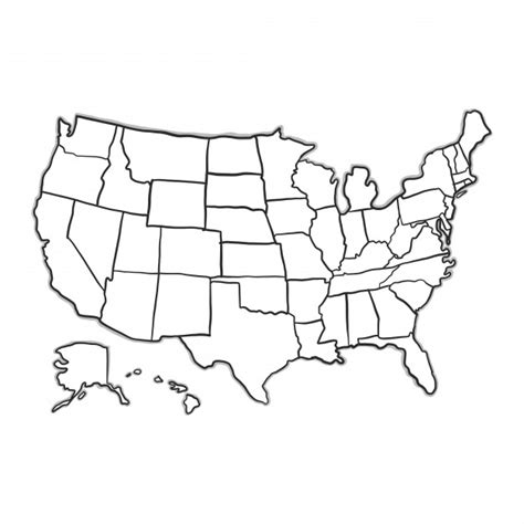 map usa vector doodle usa map vector free