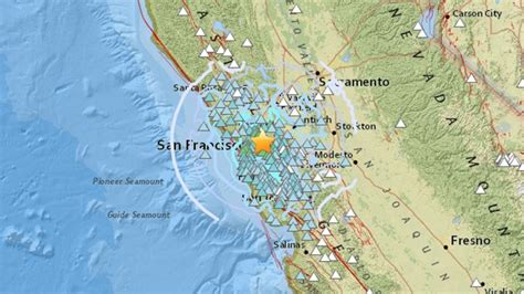 earthquake california bay area earthquake rocks san francisco bay area but no major