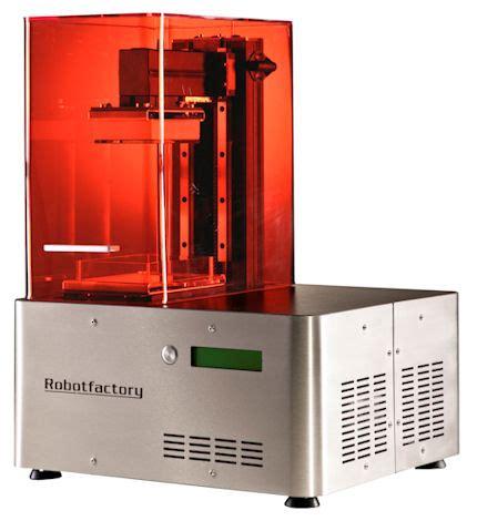 digital light processing 3d printing 3ders org robot factory develops new high resolution