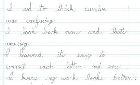 thank you letter to 3rd grade handwriting without tears 174 testimonials and success stories