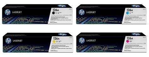 Original CE310A, CE311A, CE312A, CE313A Toner For HP