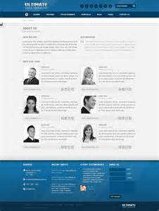 about us template ultimate multipurpose responsive html template