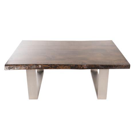 live edge coffee table joseph allen live edge coffee table wayfair