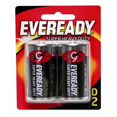 Eveready Heavy Duty Baterai Aa Isi 4 eveready d heavy duty battery 2 pack bunnings warehouse