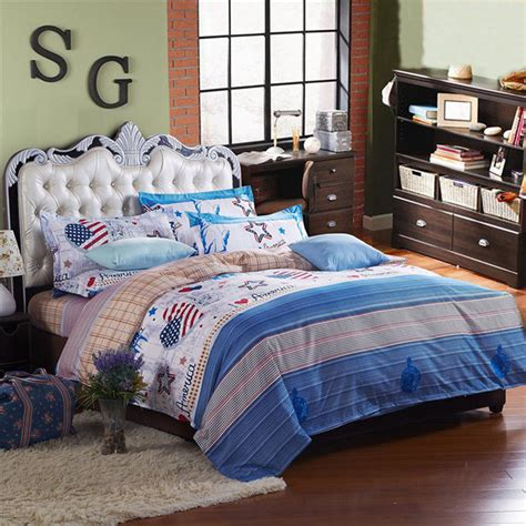 western bedding sets queen 3 or 4pcs suit western style reactive dyeing polyester