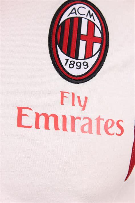 Poloshirt Ac Milan White fly emirates ac milan adidas polo shirt white