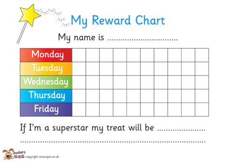 printable reward chart school printable editable behavior charts search results