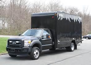ford f550 tactical vehicle box trucks