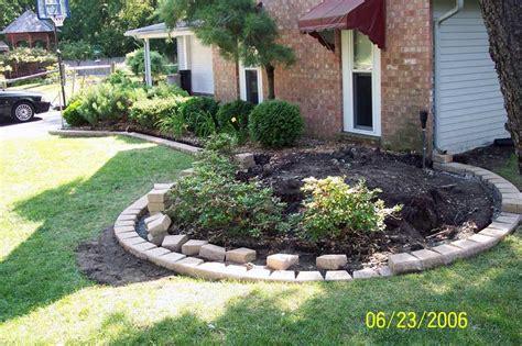 brick edging for flower beds brick driveway image brick edging
