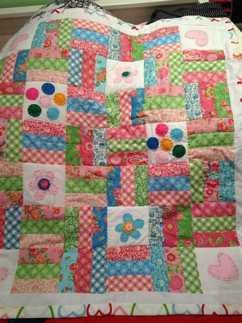 quilt pattern picket fence picket fence quilt anaya s 1st quilt quilts pinterest
