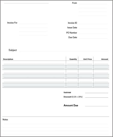 open office templates for invoices open office invoice template