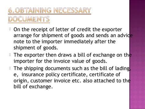 Beneficiary Certificate Letter Of Credit Forum Import Procedure And Documentation