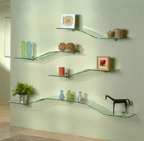 glass shelves for living room stylish ideas on how to decorate glass shelves in living room