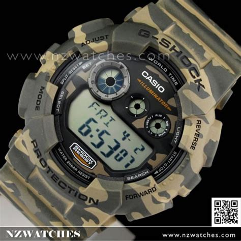 Casio Army army camo g shock