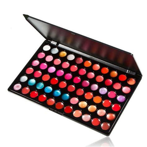 Lipgloss Warna by Pro 66 Warna Lip Gloss Lipstik Cantik Pelembab Glitter