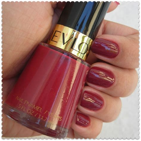annabelclaire: beauty and lifestyle: There will be Oxblood! Revlon Raisin Rage Nail Polish