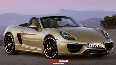porsche boxster 2016 2016 porsche boxster facelift rendered the 918 spyder s