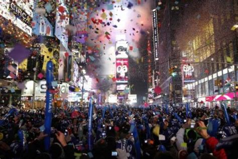 why do on new years why does new york city drop the on new year s