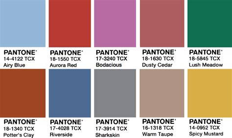 what is pantone color how to use 2017 pantone color trends in design ny now