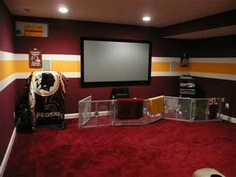 redskins basement football duke entertainment room and be