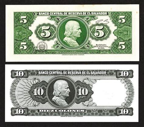 banco central de reserva de el salvador banco central de reserva de el salvador 1983 issues