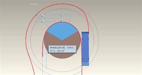 18 wheeler turning radius diagram 18 wheeler turning radius diagram images