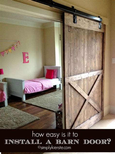 How To Install A Barn Door How To Install A Barn Door Bountiful Bathrooms